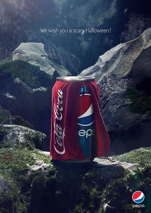 Happy Halloween. The Cola Wars continue.