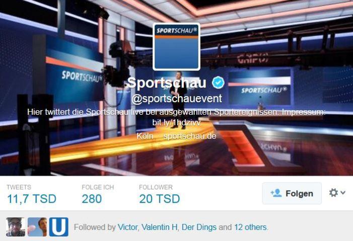 Twittert wie die Jugend. Die Sportschau möchte jüngeres Publikum gewinnen.
