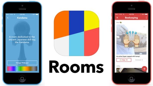 Mit der App Rooms können Unternehmen virtuelle Räume einrichten, in die sie auch Nicht-Facebook-User einladen können, etwa um exklusive Informationen mit Markenbotschaftern zu teilen.